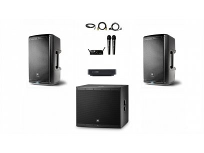 Караоке-комплект Club JBL EON 50 Plus